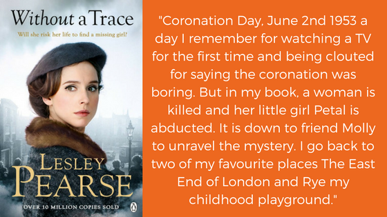 Without a Trace - Coronation Day, June 2nd 1953 a day I remember for watching a TV for the first time and being clouted for saying the coronation was boring. But in my book, a woman is k