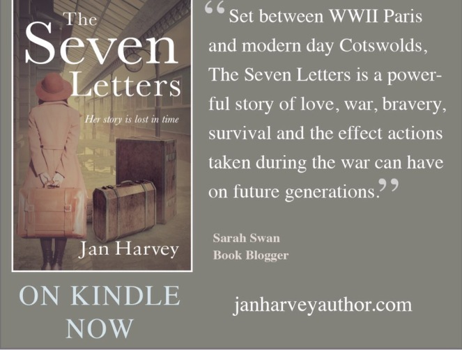 The Seven Letters by Jan Harvey
