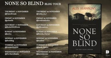 None So Blind Blog Tour Poster