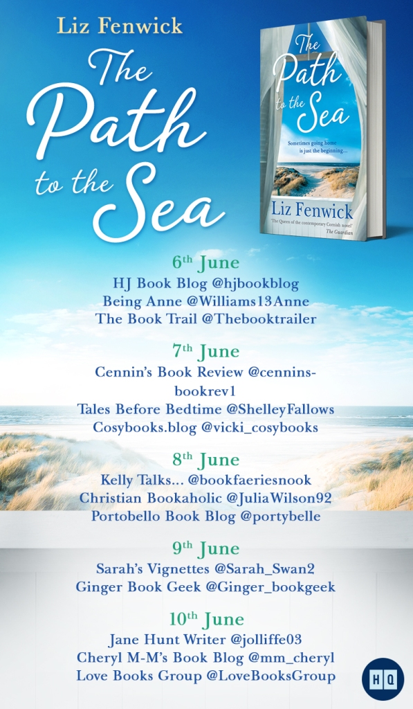 The Path to the Sea by Liz Fenwick blog tour poster