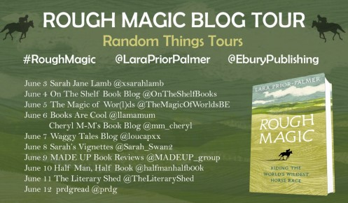 Rough Magic Blog Tour poster