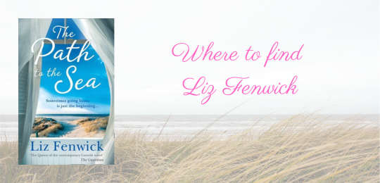 Where to find Liz Fenwick, with a cover image of The Path to the Sea