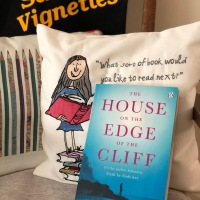 A Sarah's Vignettes Book Review: The House on the Edge of the Cliff by Carol Drinkwater (@Carol4OliveFarm) ~ @MichaelJBooks