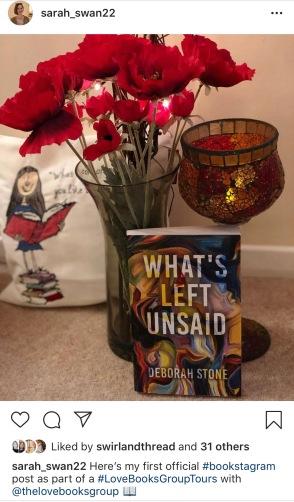 What's Left Unsaid by Deborah Stone