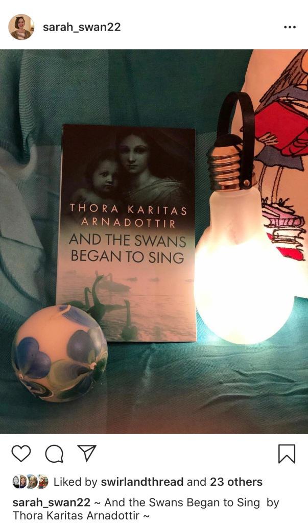 And the Swans Began to Sing by Thora Karitas Arnadottir