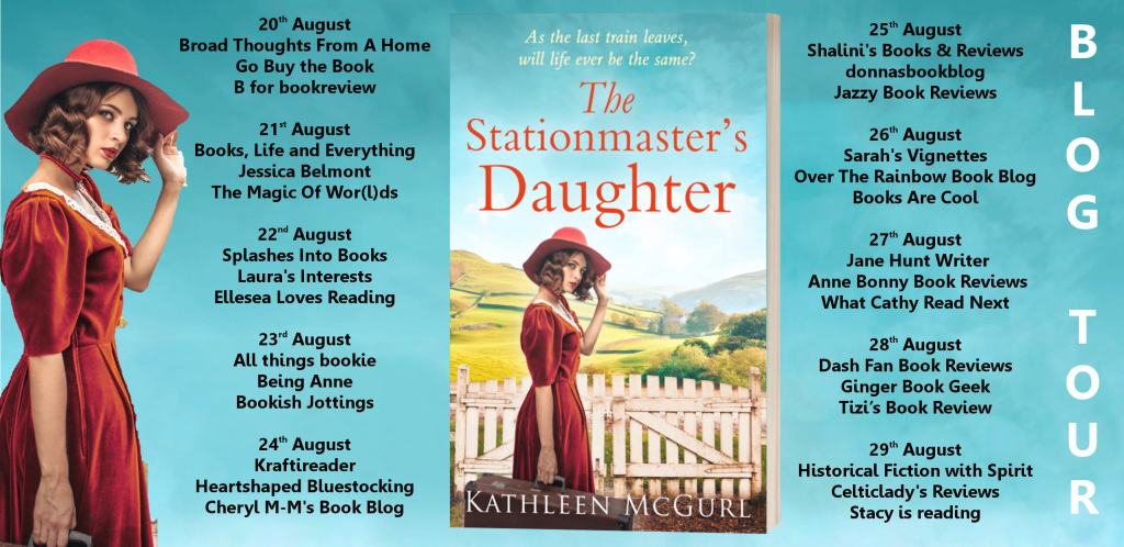 The Stationmaster's Daughter blog tour poster