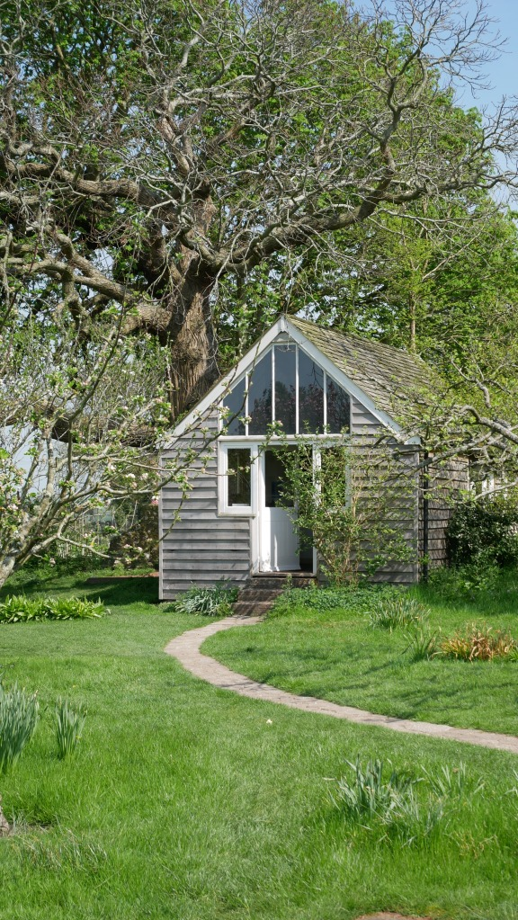Virginia Woolf's writing lodge at Monk's House.