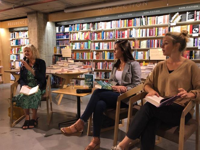 Alison Barrow, Mary Beth Keane and Anna Hope