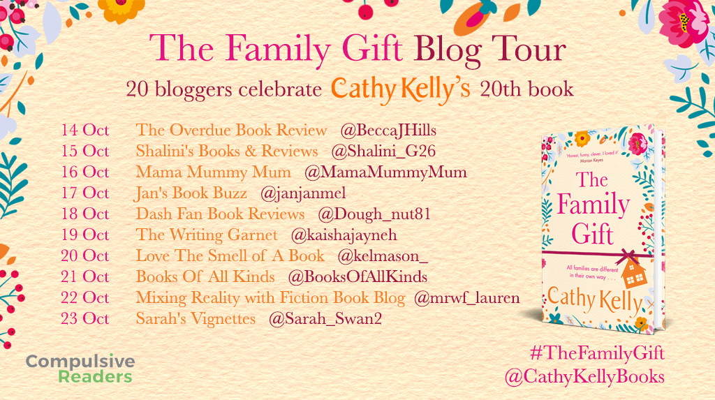 The Family Gift Blog Tour Part 1