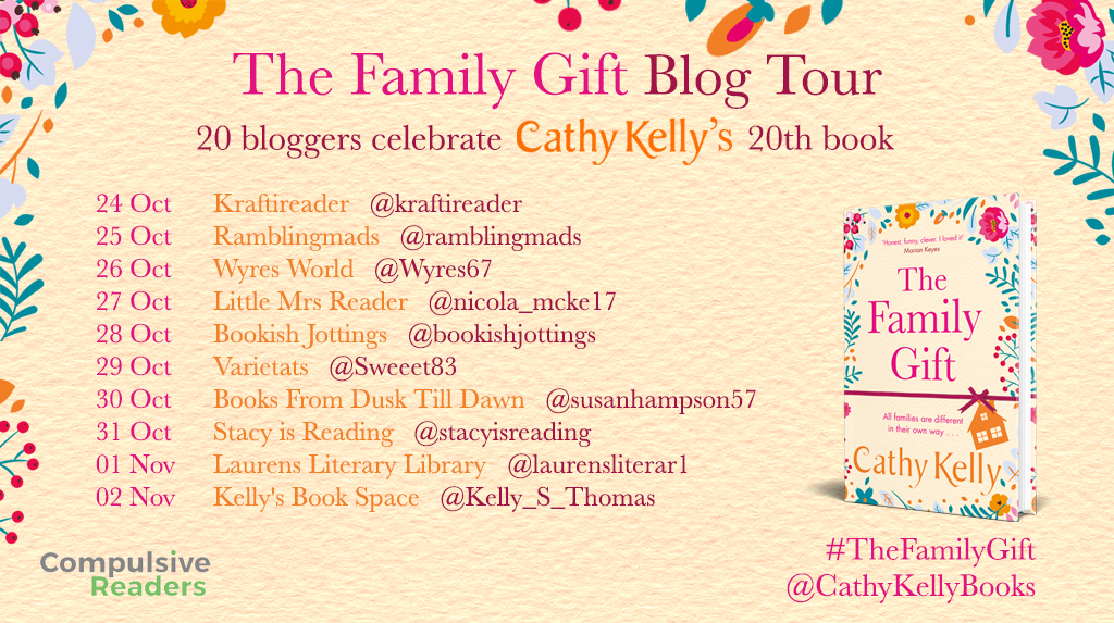 The Family Gift Blog Tour part 2