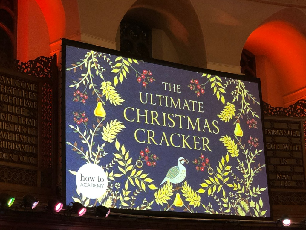 The Ultimate Christmas Cracker, how to Academy event