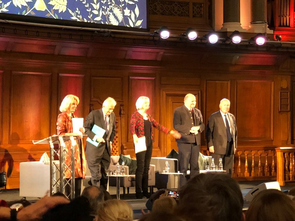 Joanna Lumley, Antony Beevor, Artemis Cooper, Jason Cooper, Julian Fellowes