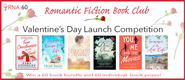 RNA 60 Romantic Fiction Book Club Valentine's Day Launch Competition