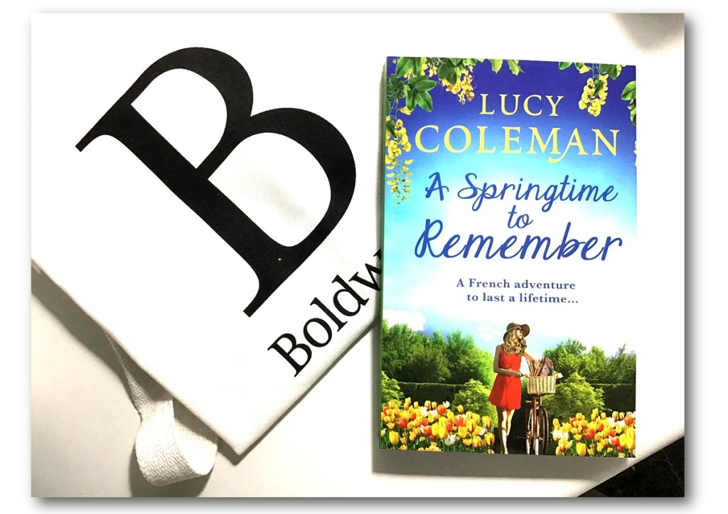 Win a signed paperback of 'A Springtime to Remember' and a Boldwood Tote bag (Open INT)