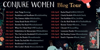 Conjure Women blog tour poster