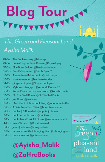 This Green and Pleasant Land tour poster