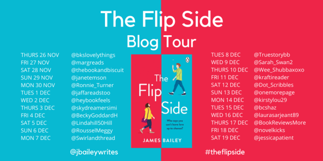 The Flip Side Blog Tour Social Media Banner