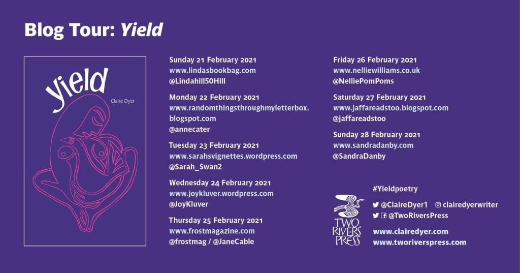 Yield blog tour banner